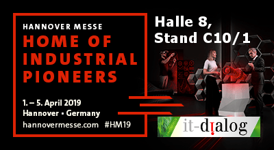 Anzeige Hannover Messe 2019